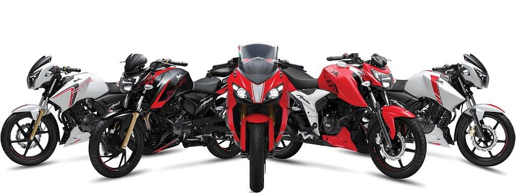 TVS Motor Company announces that the entire TVS Apache RTR series has been updated with ABS