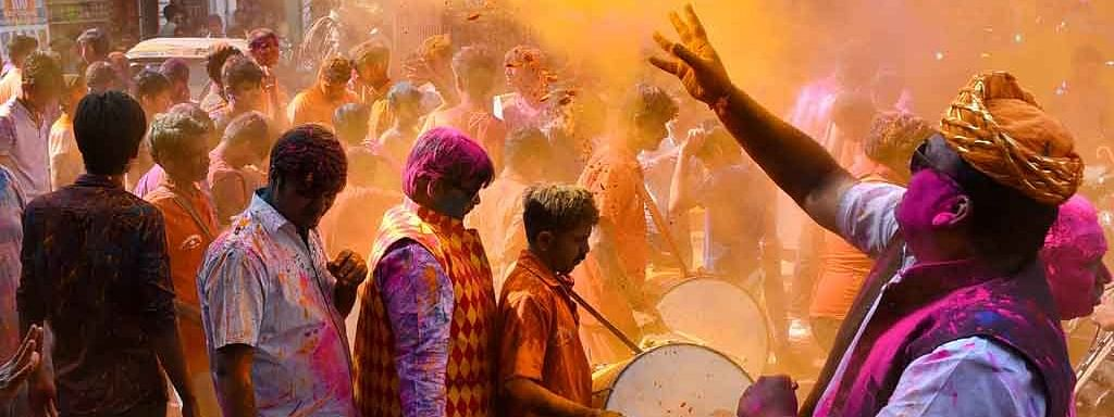 Festival of colours celebrated with gaiety in Telangana