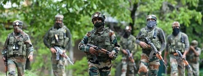 Security forces launch CASO at several places in Kashmir