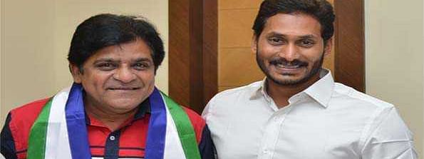 Popular film comedian Ali joins YSR Cong