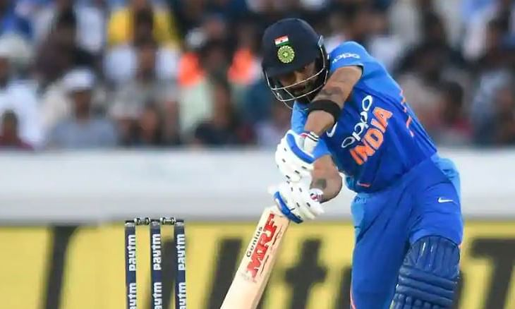 India struggle at 45/2 in second ODI against Australia