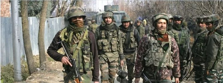 Security forces launch CASO in Sopore