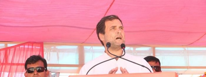 We will carry out surgical strike on poverty, if voted to power: Rahul Gandhi