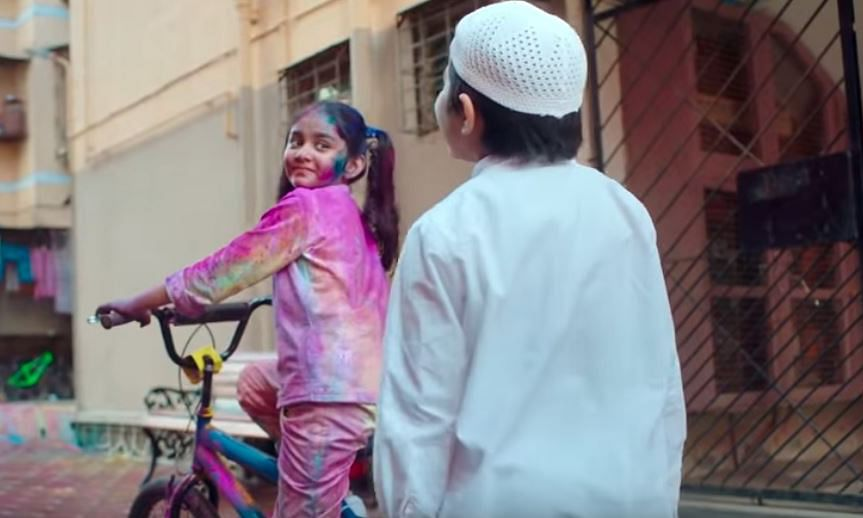 Popular detergent brand in soup for a Holi ad promoting religious harmony