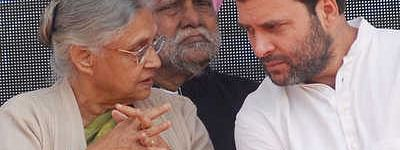 Sheila Dikshit requests Rahul to forge no alliance with AAP