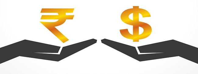 Rupee slid by 27 paise against USD