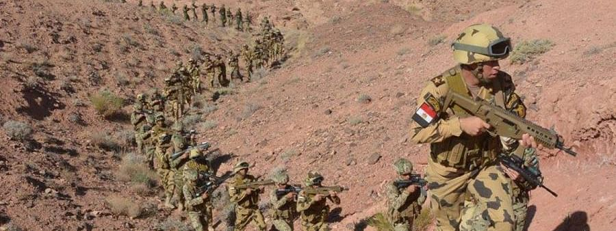 At least 46 militants, 3 soldiers killed in Egypt's Sinai