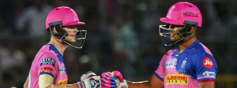 Smith guides RR to five wicket win over Mumbai Indians