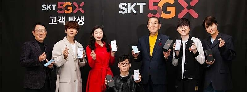 South Korea launches 5G networks