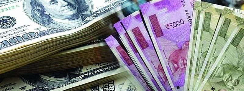 Rupee goes up by 4 paise against USD