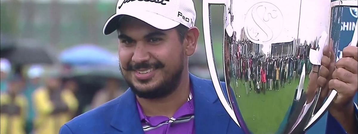 GIA confers Gaganjeet Bhullar for Outstanding Achievement as a player