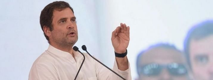 Rahul copter denied landing permission in Bengal