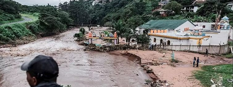 South Africa floods: Death toll after heavy rains rises to 51
