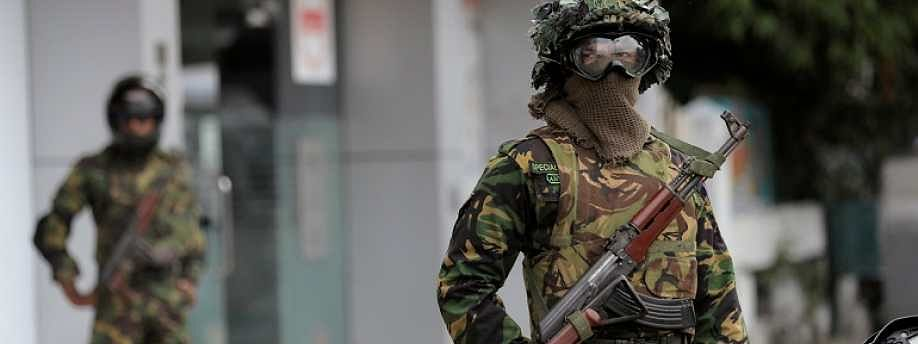 15 Islamists die in shootout with Lankan forces