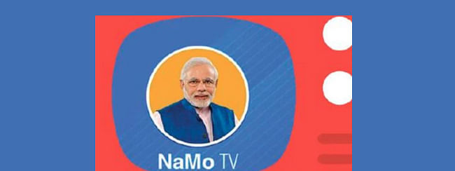 No political content be aired on NAMO TV: EC