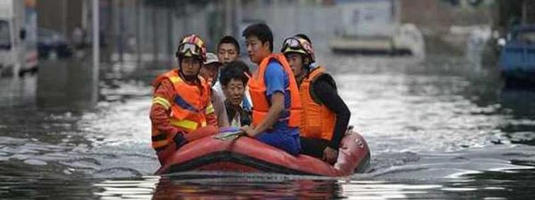 China floods: death toll rises to seven, 4 missing