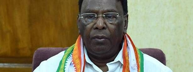 Narayansamy seeks an explanation over missing photographs in notices
