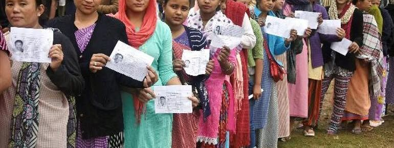 Polling begins in five LS seats in Assam