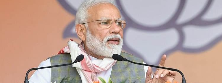Opposition has accepted defeat therefore giving 'gaali' to EVM: Modi