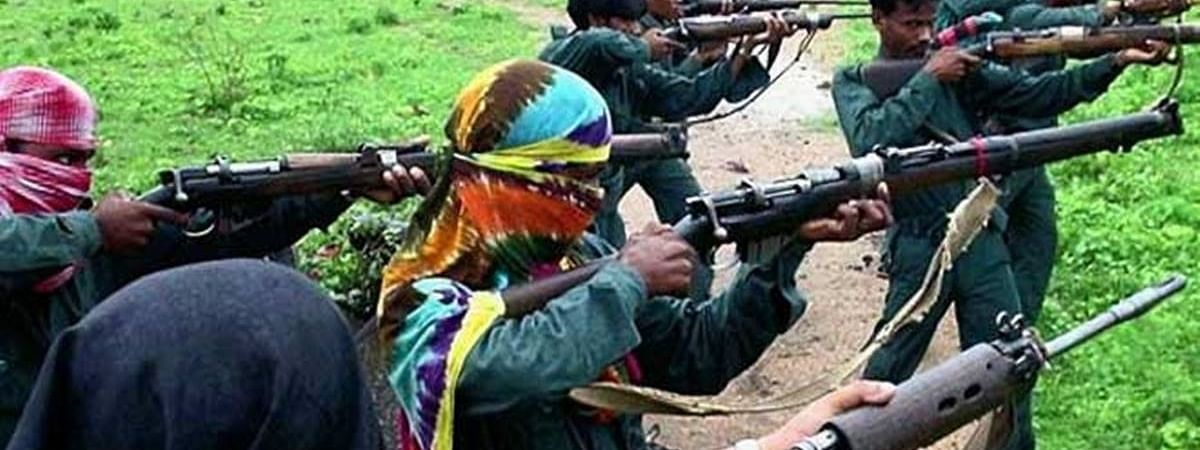 Maoist blast three buildings of forest department in Chaibasa
