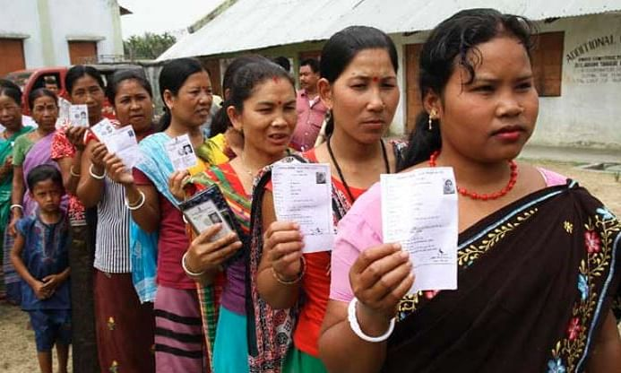 Voting for Outer Manipur begins