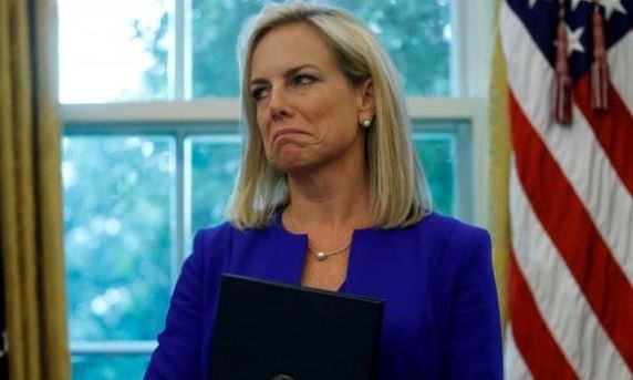 Trump announces resignation of US Homeland Security Secretary