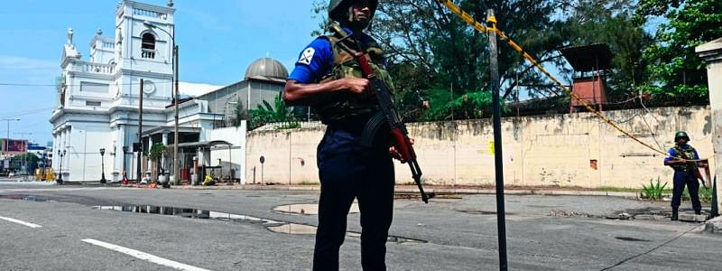 Controlled explosion carried out in Sri Lanka's south city