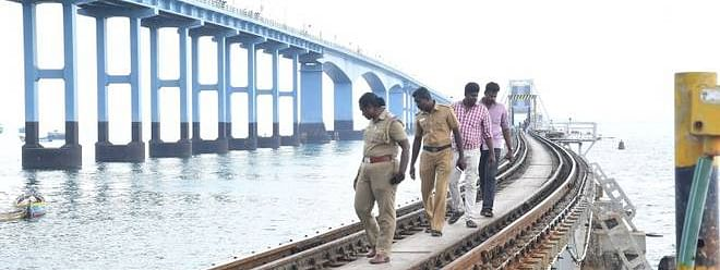 Bomb threat to Pamban Railway Bridge turns out to be hoax