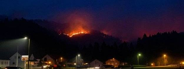 Europe wildfires: Norway police evacuate hundreds in Sokndal