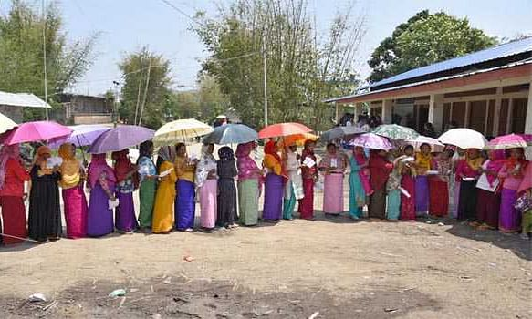 40 pc turnout by noon in Manipur elections