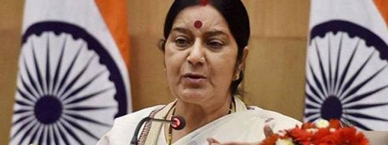 Mortal remains of Indians should not wait overseas for want of money: Sushma
