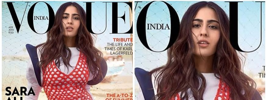 Sara Ali Khan looks unstoppable on Vogue cover