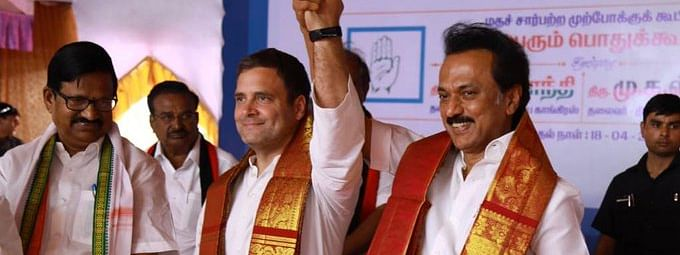 DMK names candidates for four by-polls