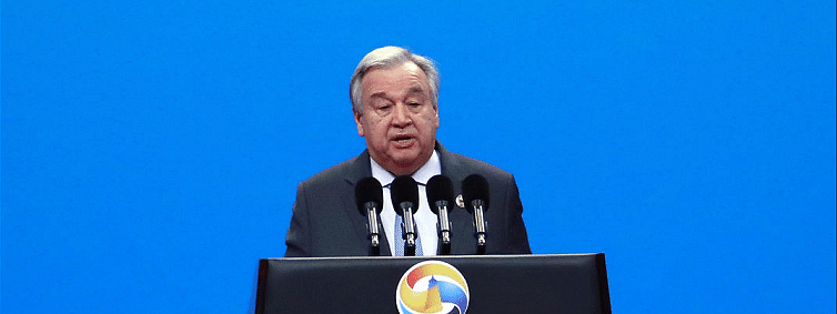 China BRF: Guterres calls for inclusive development