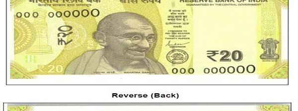 RBI to issue new Rs 20 note soon