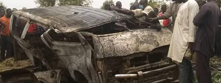 Nigerian police confirm 19 wedding guests killed in road accident