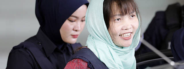 Kim Jong-nam murder: Vietnamese woman pleads guilty to lesser charge