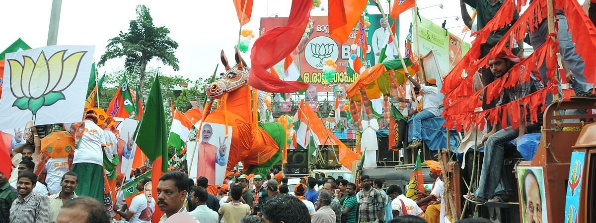 High voltage campaign ends in Kerala; house visits to begin for April 23 poll