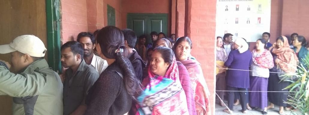Re-polling underway in 19 polling booths in Arunachal