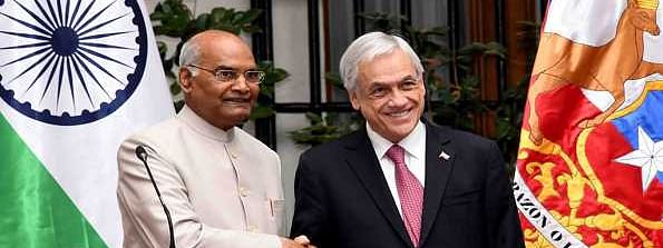 India offers defense training to Chile during Prez visit