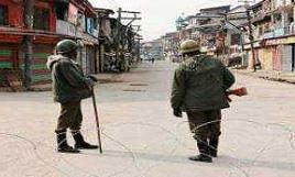 Curfew remains clamped in Kishtwar, Bhaderwah , internet snapped