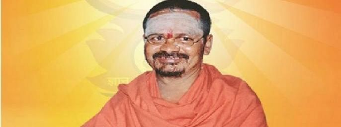 Shantigiri Maharaj not to contest LS poll from Aurangabad