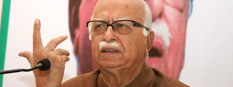 Those who disagree with BJP are not anti nationals: Advani