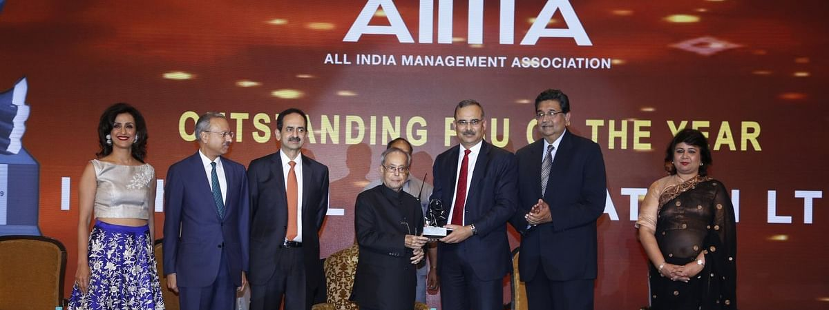 Indian Oil bags AIMA award for 'Outstanding PSU'