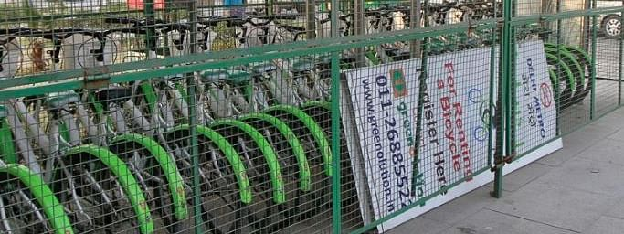 DMRC introduces permanent space for bicycle stands at its metro stations