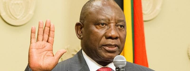 Cyril Ramaphosa sworn in as South Africa President