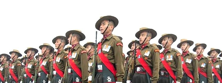 220 young soldiers become proud members of Army family in Leh