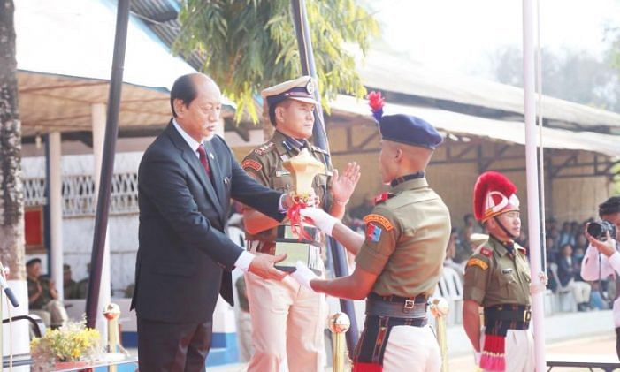 Meet on 38th Nagaland police games held