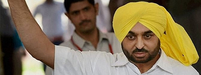 TDS deduction on farmers' compensation amounts to back stabbing: Bhagwant Mann