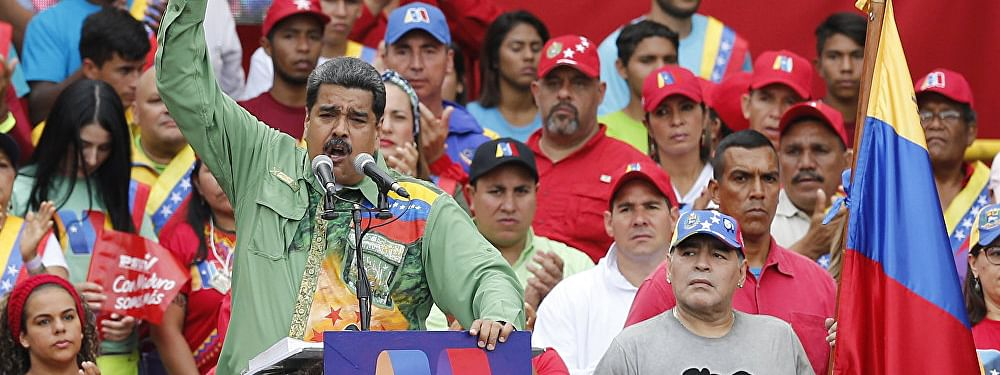 Venezuela: Maduro suggests US would use 'Slaughter' for Military intervention